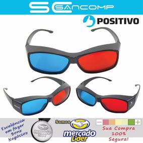 03 X Óculos 3d - Positivo Òtima Qualidade 100% Original ! 7a2d24551c