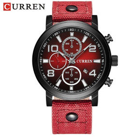 e06e1ff77fe Relógio Masculino Curren® Mod- 8199  2 Original - Oferta