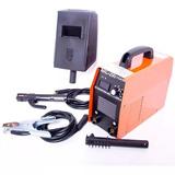 Soldadora Inversora Electrodos 200 Amps Careta Cables 110v