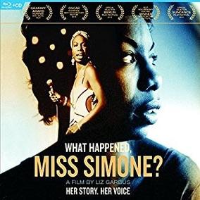 Blu-ray What Happened, Miss Simone Leg Português Lacrado