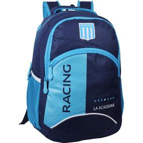 Mochila Racing Club Importada Original Licencia Oficial Cole