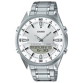 112a53d1b5b Relogio Casio Amw 702 7avdf - Relógios no Mercado Livre Brasil