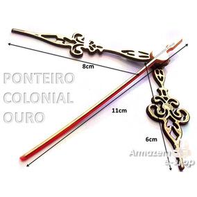 cb064a764ad Ponteiros De Relogio 20 Cm - Relógios no Mercado Livre Brasil