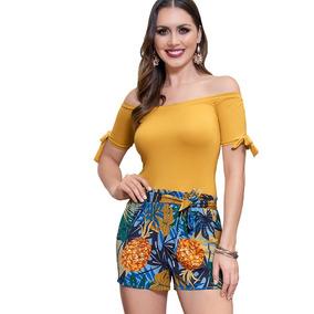 Jumpsuit Dama Mujer Moda Casual Viscosa Mostaza Verano Liger