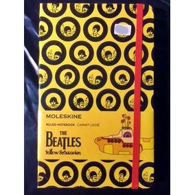 Caderno Moleskine Beatles Yellow Submarine Lacrado Grande