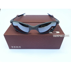 Óculos Oakley Juliet Polarizado Cinza Com Lente Azul - Óculos no ... 0b8146db1a