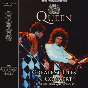 Queen - Lp Greatest Hits In Concert - Vinil Branco