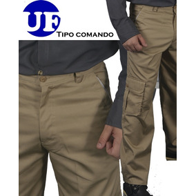 Pantalon Tipo Cargo Con Bolsillos Impermeables
