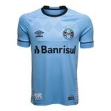 Camisa Oficial Masculina Umbro Grêmio Charrua 2018 C/ Número