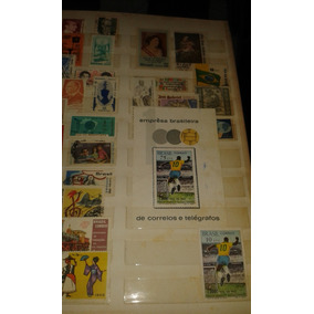 Coleção De 1000 Selos Brasil 50 A 84 - Selos Internacionas