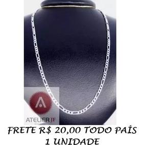 55b15b02eefc7 Corrente de Prata Unissex em Minas Gerais no Mercado Livre Brasil