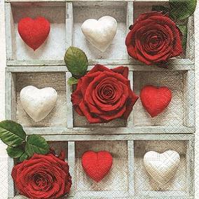 Guardanapo You Are Loved, 33x33 Cm - Paper Design