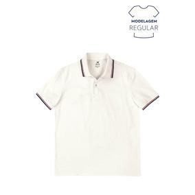 Camisa Polo Masculina Básica Regular Em Algodão Hering 3m11 e1cf0ce76a197