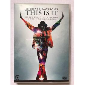 Michael Jackson Dvd Original - This Is It