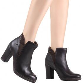 72af892c36 Botas Ankle Boots Cravo e Canela para Feminino no Mercado Livre Brasil