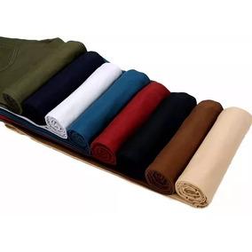 Calça Masculina Colorida Várias Cores Slim Jeans Sarja 2019