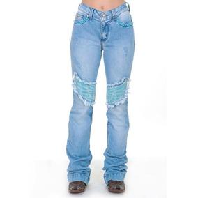 Zenz Western Jean - Calças Jeans Feminino no Mercado Livre Brasil fc295b26d76