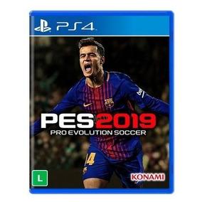 Pro Evolution Soccer 2019 - Pes 19 - Ps4 - Mídia Física Novo