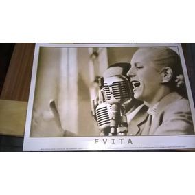 Lote De 9 Posters Calidad Foto De Perón Y Evita ( Unico )
