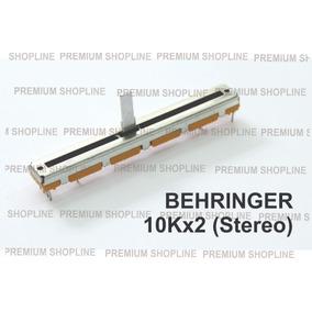 Potenciômetro 60mm 10k Stereo Para Mesas Bheringer.