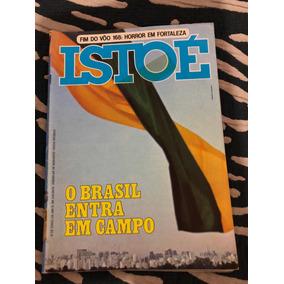 Istoé O Brasil Em Campo Copa Vôo 168 Pagú Clara N Milton N