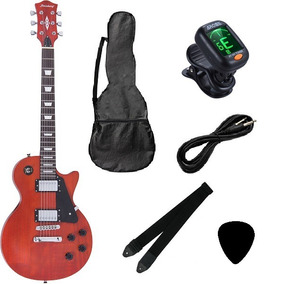 Kit Guitarra Strinberg Les Paul Lps260 + Afinador Digital +