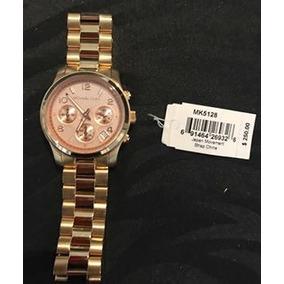 7883c04963cbd Relógio Michael Kors Mk 5128 Rose Gold Dourado - Relógios De Pulso ...