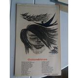 Antigua Xilografia Golondrinas Alfredo Lepera Carlos Gardel