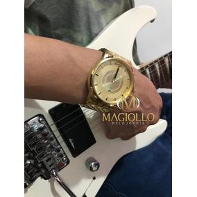 683db2374dd Relogio Mormaii Dourado - Relógio Mormaii no Mercado Livre Brasil