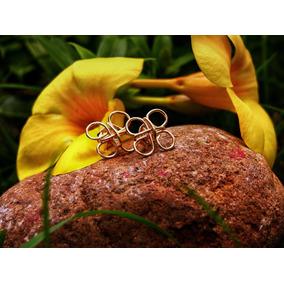 Zarcillos Goldfilled Bistueria Artesanal