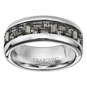 6ccb7df0c6acb Anel Nirvana Swarovski Prata - Anéis com o melhor preço no Mercado ...