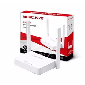10 Unid. Roteador Wifi Mercusys Wireless 300mbps Mw301/305r