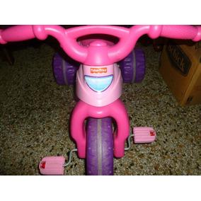 Triciculo Fisher Price Modelo Barbie Para Niña