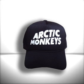 f6b6fda4b1d31 Boné Artic Monkeys Todo Preto Trucker Frete Grátis. R  65 99