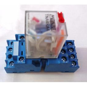 Relé Metaltex - Tn4ra4 220 Vac Com Base Finder /metaltex