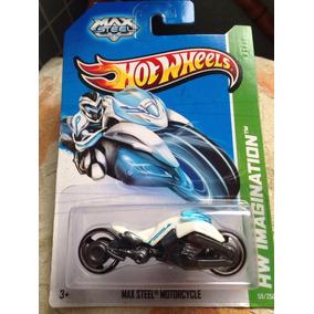 Bx132 Hw Moto Hot Wheels Max Steel Motorcycle