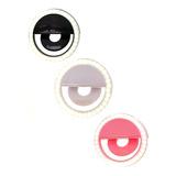 Luz Selfie Ring Light Clipe Anel Led Flash Celular Universal