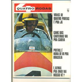 *sll* Revista Quatro Rodas N, 93 - Ano. Abril De 1968