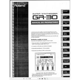 Manual Em Português Roland Gr-30