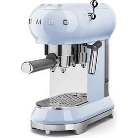 Smeg Espresso Machine Pastel Blue Ecf01 Pbus