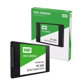 Disco Solido Wd 120gb 2.5 7mm Sata3 Green Pc Ntb Wds120g2g0a