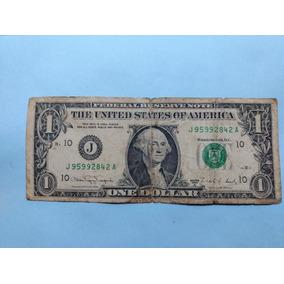 Nota De 1 Dolar Rara,series 1988a