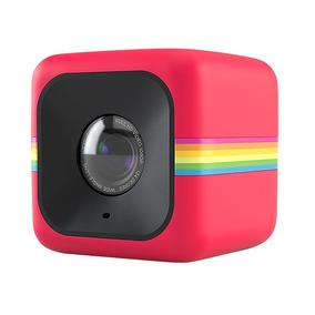 Câmera De Ação Full Hd Cube Polaroid Vermelha