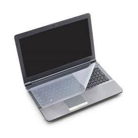 Película Silicone Transparente P/ Teclado Notebook 14 X 36cm