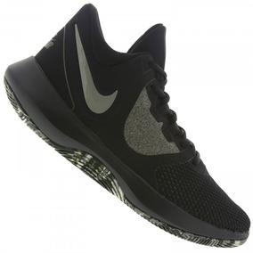 Tênis Nike Air Precision Masculino Ii - Preto E Caqui