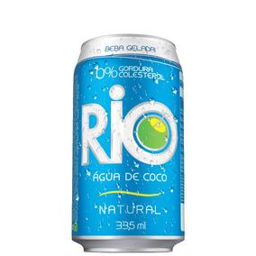 56679a15a Água De Coco Rio Lata 335ml Com 12 Unidades
