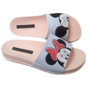 Kit 10 Pares Chinelo Sandália Beach Slide Mickey Atacado K59