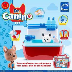 Brincando De Veterinario Maleta Super Equipada Dr. Pet Shop