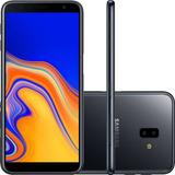 Celular Samsung Galaxy J6 Plus Prata 32gb 3gb Ram Tela 6