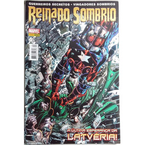 Reinado Sombrio - Marvel 4 - Hq